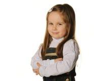 ładny mały dziewczyna portret zdjęcia stock