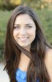 Ładny nastoletniej dziewczyny Headshot Zdjęcia Royalty Free