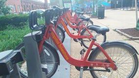 Ładny obrazek jechać na rowerze system od DC Fotografia Stock