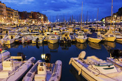 Ładny port w Francja obrazy royalty free