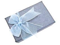 ładny pudełkowaty prezent zdjęcie royalty free