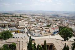 Ładny widok El Kef śródmieście Zdjęcie Royalty Free