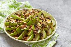 Ładowni jabłczani nachos Zdjęcie Royalty Free