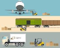 Ładowniczy ładunek Zdjęcie Stock
