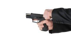 Ładowniczy pistolet Fotografia Stock
