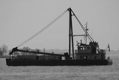 Ładunek łódź fotografia royalty free