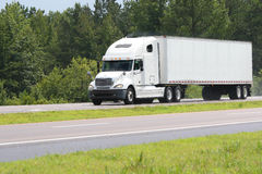 ładunek ciężarówka Zdjęcie Stock