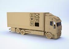 ładunek ciężarówka Ilustracja Wektor