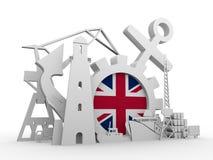 Ładunek portowe względne ikony ustawiać Obraz Royalty Free