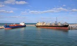 ładunków statki Zdjęcia Royalty Free