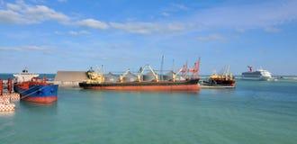 ładunków statki zdjęcia stock