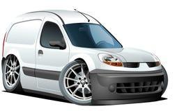ładunku kreskówki doręczeniowego samochód dostawczy wektor Obraz Stock
