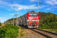 Ładunku pociąg Zdjęcia Stock