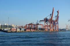 Ładunku port w Istanbuł Zdjęcie Royalty Free