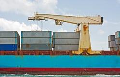 ładunku przemysłowy statku transport Obrazy Stock