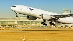 Ładunku samolot obrazy royalty free
