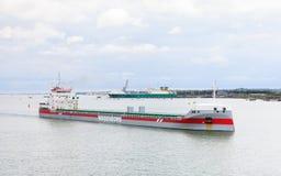 Ładunku statek Vlieborg Fotografia Royalty Free