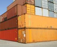 ładunku zbiorników zafrachtowań schronienia terminal Obrazy Royalty Free