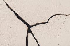 Łamający bielu betonu tło Fotografia Royalty Free