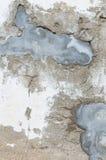 Łamana cement ściana Obrazy Royalty Free