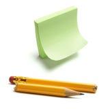 łamana ołówkowa poczta zdjęcia stock