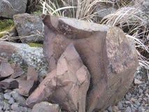 Łamana skała Zdjęcia Stock