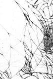 Łamana szklana tekstura, pękająca w szkle zdjęcia royalty free