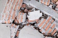 Łamane cegły Obraz Stock