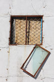 łamani okno Obraz Stock
