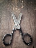łamani starzy nożyce Zdjęcie Stock