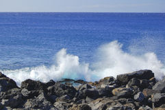 łamania hawajczyka brzeg kipiel obraz royalty free