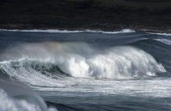 Łamanie fala, Nowe południowe walie Fotografia Royalty Free