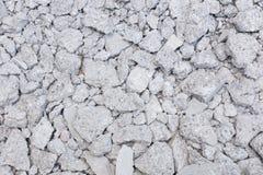 Łamany betonowy tekstury tło Obrazy Royalty Free