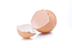 łamany eggshell zdjęcia stock