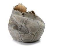 Łamany futbol zdjęcie stock