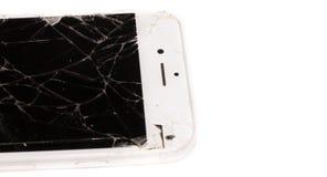 Łamany iPhone 6S rozwijał firmą Apple Inc obraz stock