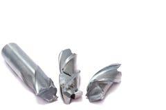 Łamany metalu młynu narzędzie Zdjęcia Royalty Free