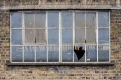 Łamany okno Obraz Royalty Free