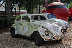 Łamany puszek Herbie miłości pluskwa, Hollywood studia, Orlando, FL Obrazy Royalty Free