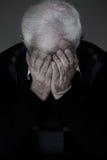 Łamany puszka mężczyzna Obraz Royalty Free
