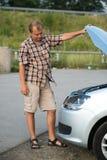 Łamany samochód obrazy royalty free