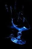 łamany szkło Fotografia Royalty Free