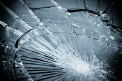 łamany szkło Zdjęcie Royalty Free