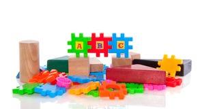 łamigłówek edukacyjne zabawki Zdjęcie Royalty Free