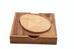 łamigłówka drewniana Obrazy Royalty Free