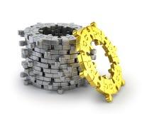 Łamigłówka pierścionek Obrazy Stock
