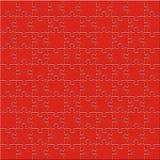 łamigłówki czerwień ilustracja wektor