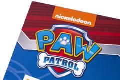 Łapa Patrolowy symbol fotografia stock