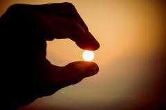 Łapie słońce Obrazy Stock