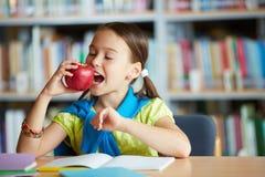 Łasowania jabłko obraz stock